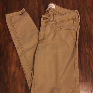 Old Navy Khaki Rockstar Jeans